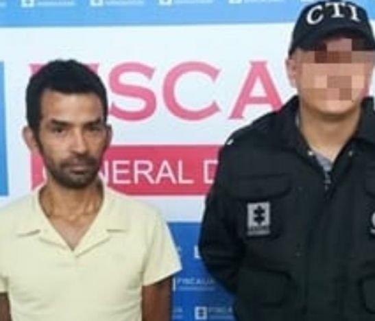 Autoridades capturaron a un sujeto para que cumpla condena por golpear a su pareja sentimental