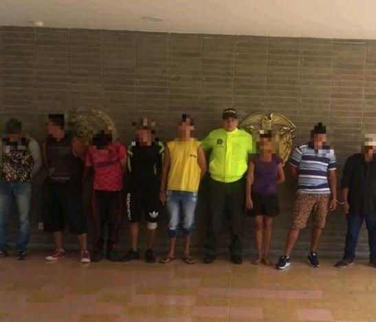 Autoridades desarticularon la banda delincuencial 'La Saga' en el Espinal