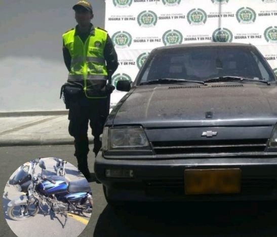 Actividades de la Policía permitieron recuperar un automóvil y una motocicleta
