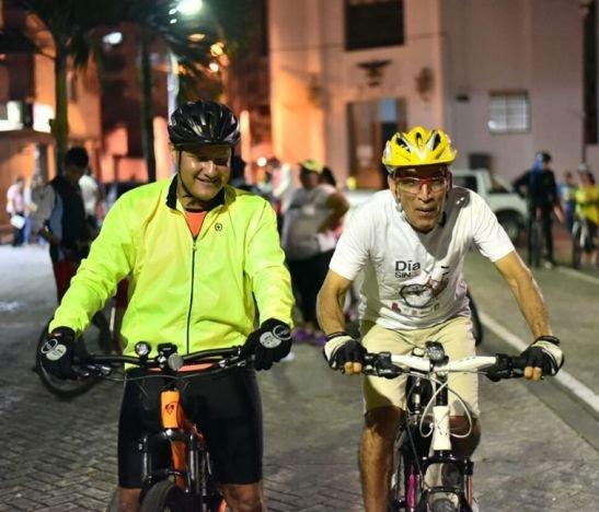 Hoy se llevará a cabo la 'ciclovía navideña' nocturna en Ibagué