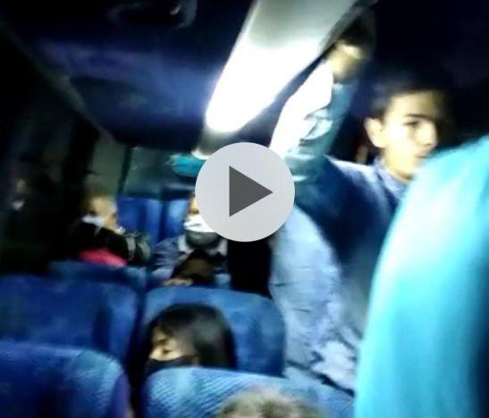 En Santa Isabel denuncian incumplimiento del aforo en buses de Rápido Tolima