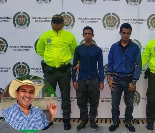 Presuntos homicidas de concejal de Cunday fueron enviados a la cárcel