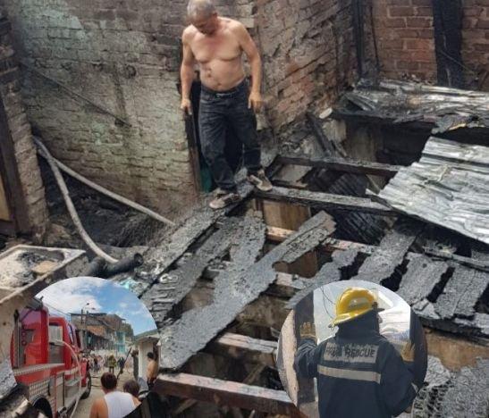 Autoridades confirmaron millonarias pérdidas tras un incendio en Los Mártires