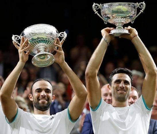 ¡HISTÓRICO! Juan Sebastián Cabal y Robert Farah se coronaron campeones de dobles en Wimbledon