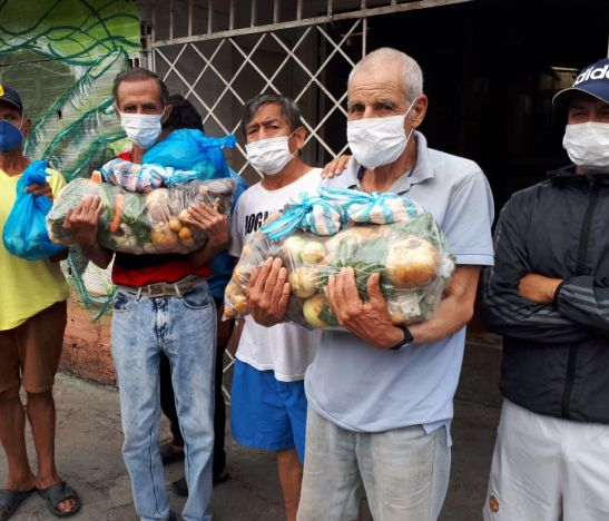 Cerca de 1.500 personas 'paga diarios' que habitan residencias e inquilinatos del centro de Ibagué, requieren alimento y están amenazados a ser desalojados
