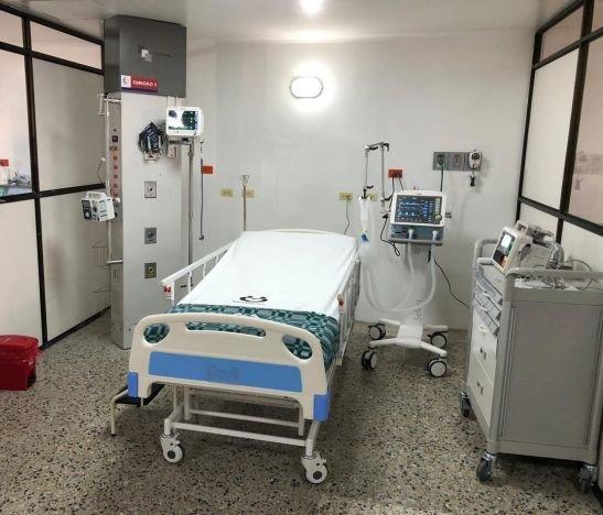 Sede la Francia y Limonar del Hospital Federico Lleras Acosta tienen una ocupación de camas UCI del 90%