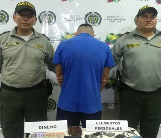 Cayó alias 'Pablito' en Honda, norte del Tolima
