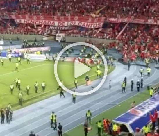 Momentos de pánico se vivieron anoche en el estadio Pascual Guerrero