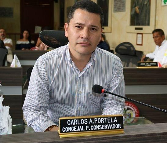 """""""Han pasado dos años y 9 meses y aun el tanque por ningún lado, aun el agua por ningún lado"""": Concejal Carlos Portela"""