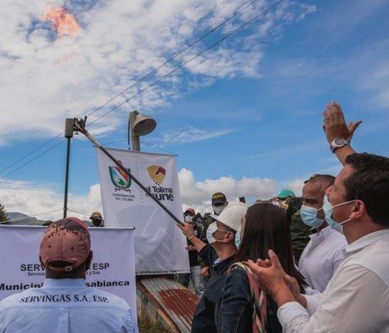 En Casabianca 13 veredas ya cuentan con el servicio de gasificación
