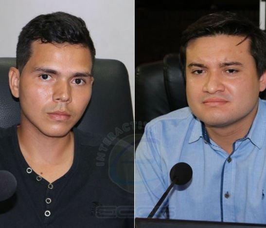 César Pérez de Jóvenes con Petro y Juan Urrea del Centro Democrático