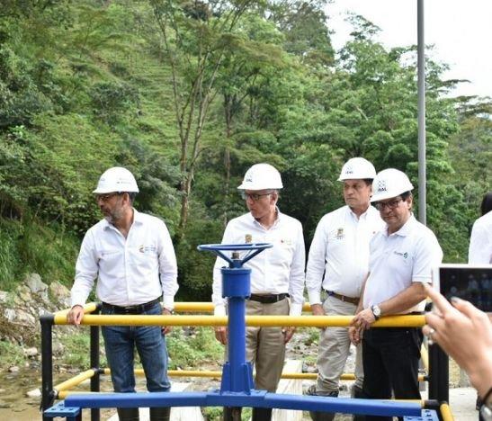 Habilitaron nuevo sistema de acueducto en la quebrada Cay