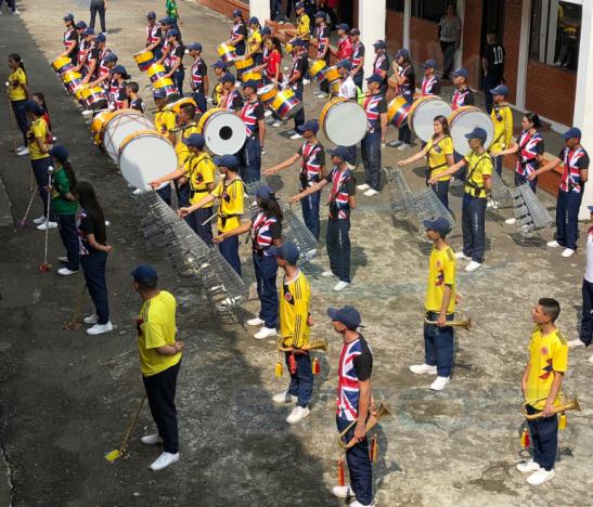 Banda Músico Marcial Colegio Militar Inocencio Chincá HD