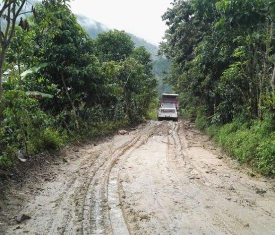 Comunidad de Colón en Santa Isabel mejorará la movilidad entre el centro poblado y San José