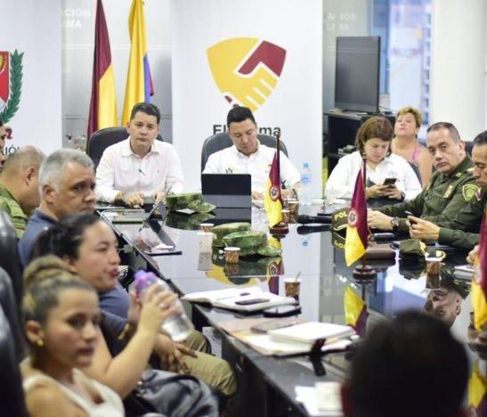 Gobierno Departamental realizó Consejo Extraordinario de Seguridad