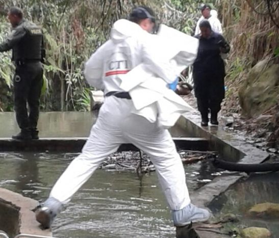 Hallaron cadáver en un canal de riego ubicado en inmediaciones del barrio Álamos