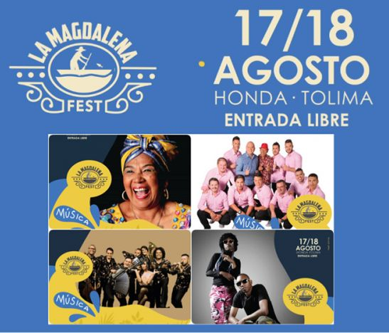 La Magdalena Fest, el festival cultural de Honda, Tolima llega a su segunda edición