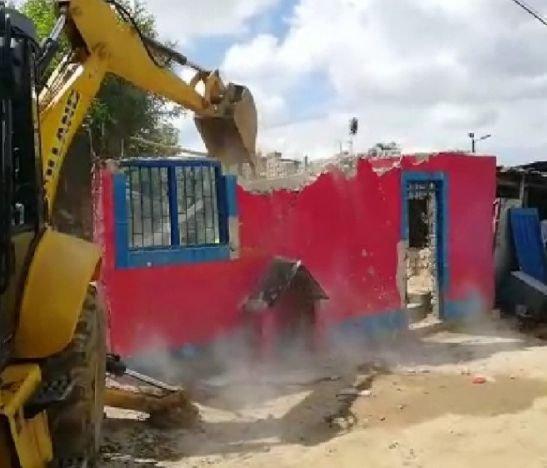 Cinco lugares de expendio de estupefacientes fueron demolidos en Ibagué