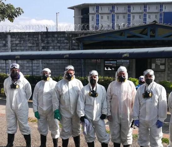Ibagué Limpia realizó jornada de desinfección en el COIBA