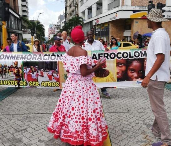 Comunidades marcharon en la conmemoración del Día de la Afrocolombianidad