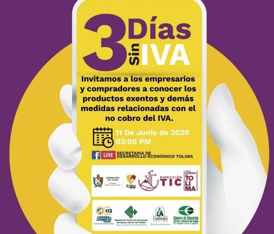 Alcaldía de Ibagué y gremios económicos entregaron el balance del Tercer Día sin Iva
