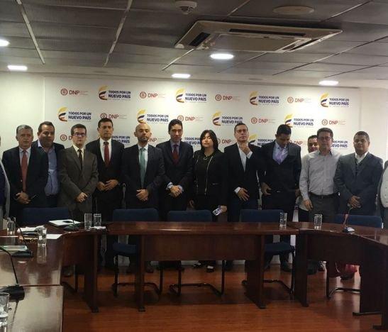 DNP se compromete con el contrato paz para el Tolima