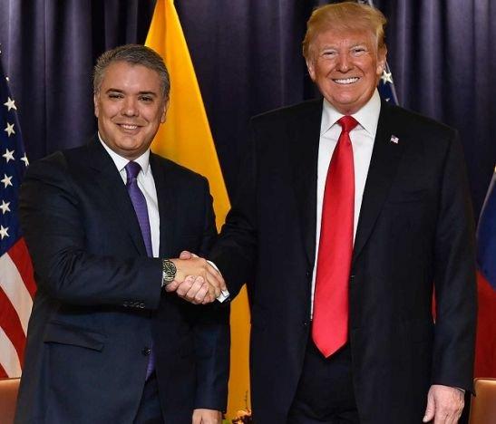 Duque - Trump