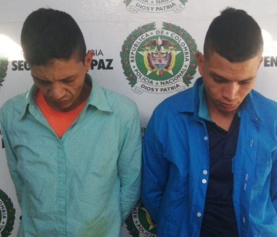 Delincuentes dedicados al hurto se auto partes fueron capturados por la Policía