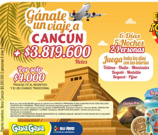 ¿Quieres viajar a Cancún y conocer este paradisíaco lugar? con GanaGana lo puedes lograr