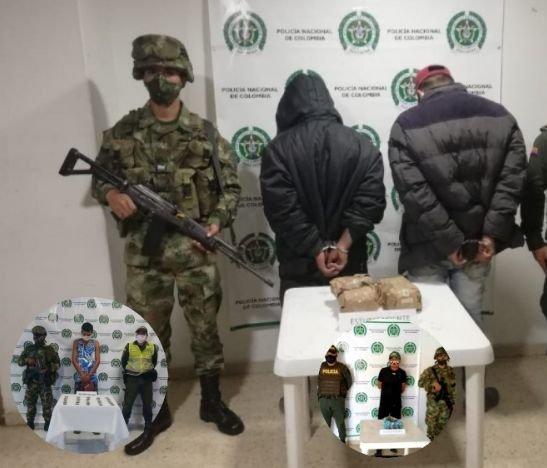 Operativos del Ejército y la Policía en el norte del Tolima dejaron múltiples capturas