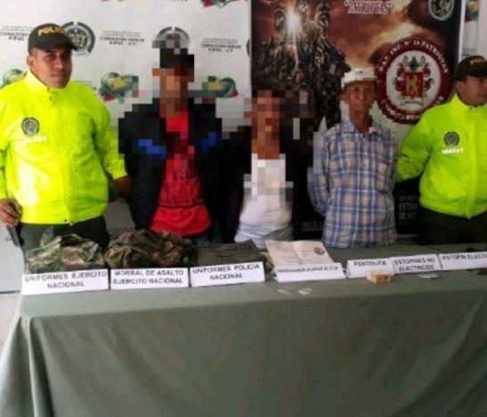 Operativo de las autoridades permitió afectar una estructura del ELN en el norte del Tolima