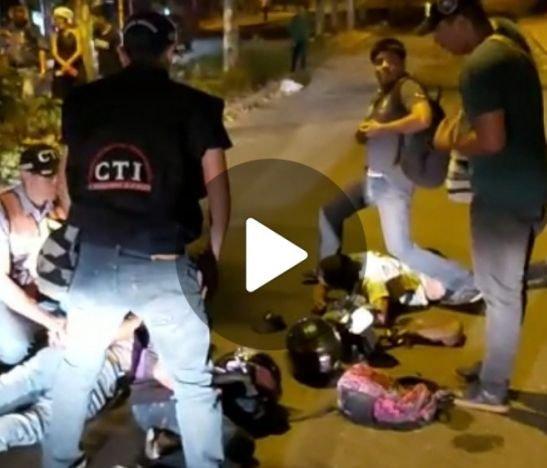 Video. Cinematográfico operativo del CTI permitió la captura de dos integrantes de la estructura delincuencial