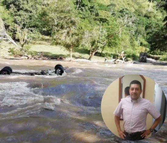 Organismos de socorro encontraron el cuerpo de un hombre flotando en aguas del río Saldaña