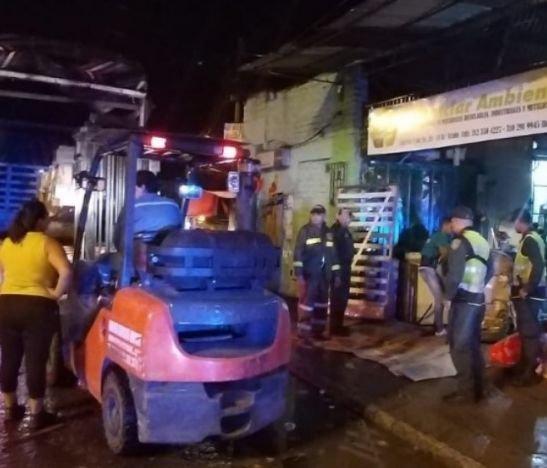 Personal de la Policía Metropolitana se tomó 'La Vuelta del Chivo'