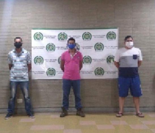 Policía del Tolima desarticuló la banda delincuencial Los Socios del Sur