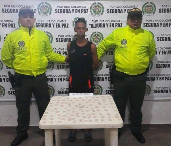Policía del Tolima logró la captura de alias El Palomo en el Guamo