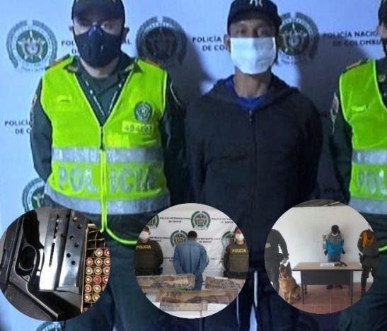 Policía Metropolitana logró la incautación de siete armas de fuego en medio de operativos de los últimos días
