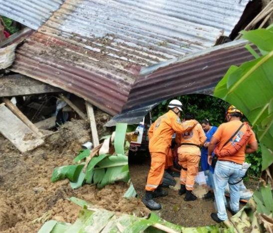 Deslizamiento en la zona rural de Chaparral dejó dos heridos y dos muertos