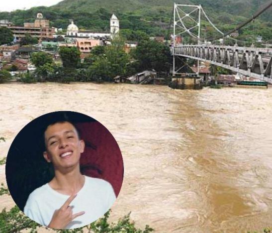 Nada que encuentran al joven que desapareció al arrojándose desde un puente al río Magdalena