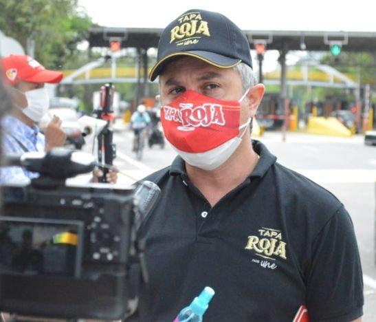 Fábrica de Licores presente en la campaña de prevención contra el COVID-19 en vías del Tolima