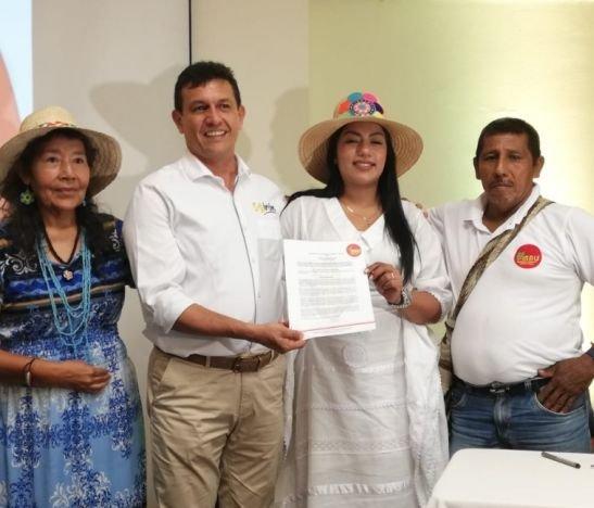 José Alberto Girón recibió el aval del Mais para su campaña a la Alcaldía de Ibagué