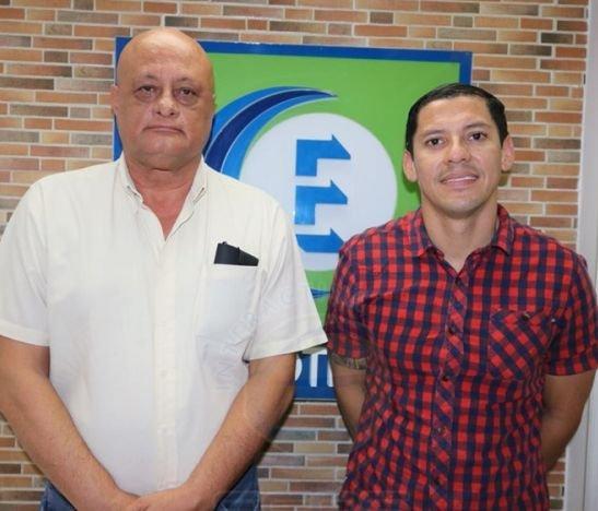Hernando Álvarez, abogado y Camilo Delgado, concejal Partido Liberal