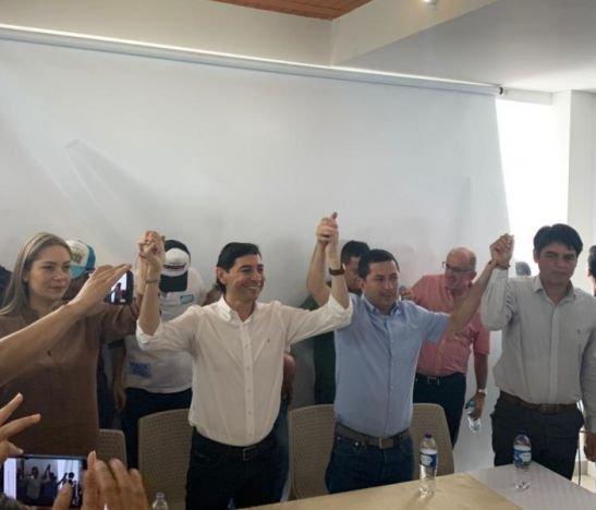 José Barreto se unió a la campaña de Andrés Hurtado para la Alcaldía de Ibagué