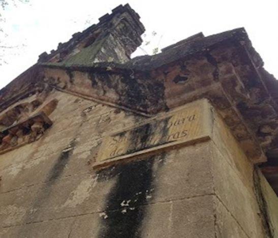 Las míticas Ruinas de la Iglesia Santa Bárbara en San Luis, Tolima