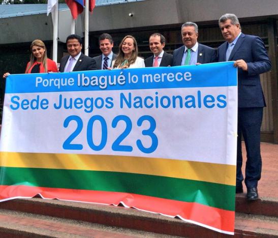 Bancada tolimense le piden a Coldeportes que el departamento sea sede de los Juegos Nacionales y Paranacionales del año 2023