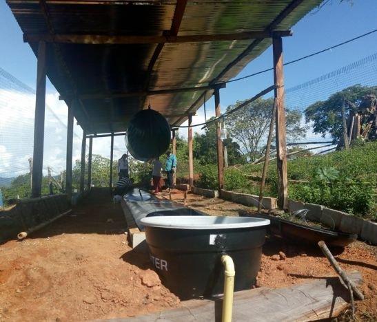 CORTOLIMA y la Alcaldía de Mariquita entregaron a 5 familias campesinas Sistemas de Biodigestores de Flujo de Continuo