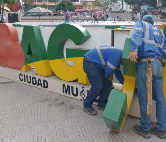 Autoridades confirmaron que la vocal del letrero 'IBAGUÉ' del Murillo Toro nunca fue robada
