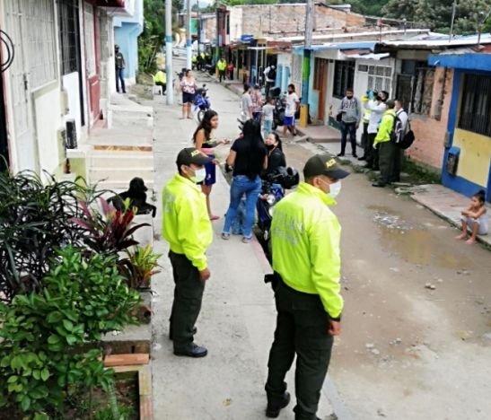 Autoridades confirmaron la captura de más de 20 personas en la comuna ocho de Ibagué