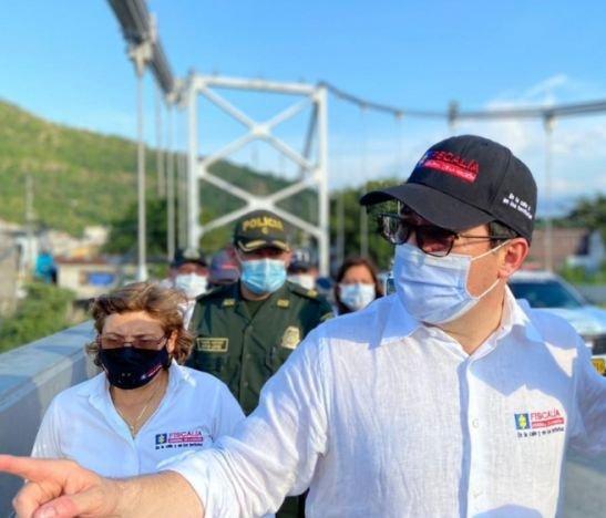Fiscal General de la Nación visitó el Tolima y Cundinamarca resaltando estrategias de investigación