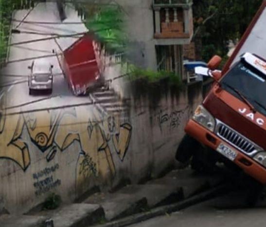 Video. Si los milagros existen, un conductor en Ibagué fue testigo de esto